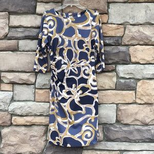 J. McLaughlin Sage Ruched Dress